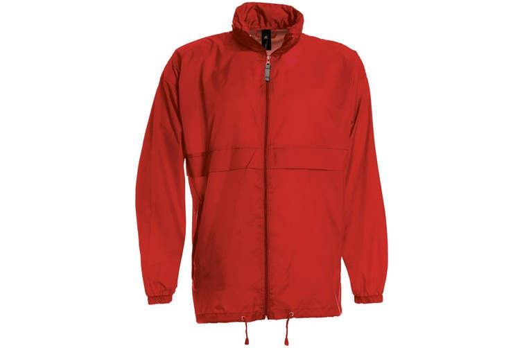 B&C Sirocco Mens Lightweight Jacket / Mens Outer Jackets (Red) (M)