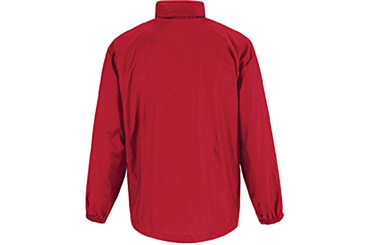 B&C Sirocco Mens Lightweight Jacket / Mens Outer Jackets (Red) (3XL)