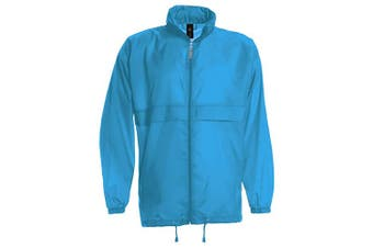 B&C Sirocco Mens Lightweight Jacket / Mens Outer Jackets (Atoll) (2XL)