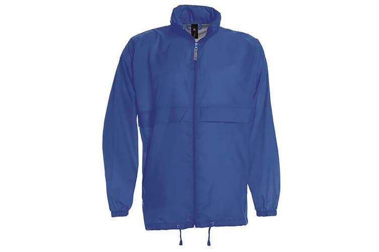B&C Sirocco Mens Lightweight Jacket / Mens Outer Jackets (Royal) (XL)