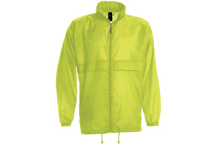 B&C Sirocco Mens Lightweight Jacket / Mens Outer Jackets (Ultra Yellow) (S)