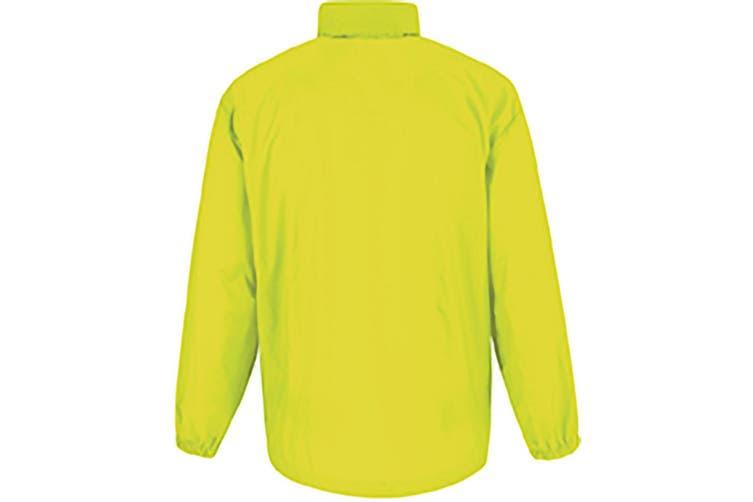 B&C Sirocco Mens Lightweight Jacket / Mens Outer Jackets (Ultra Yellow) (2XL)