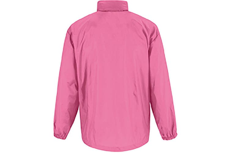 B&C Sirocco Mens Lightweight Jacket / Mens Outer Jackets (Pixel Pink) (L)