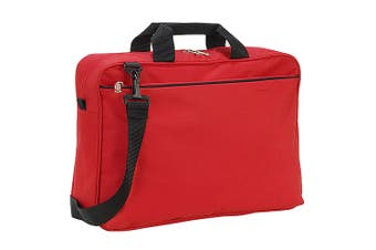 Shugon Kansas Conference Bag (13 Litres) (Red) (One Size)