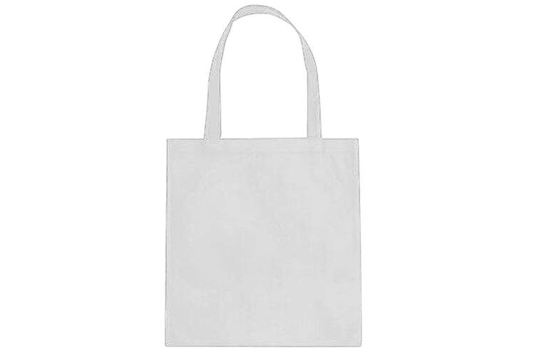 Shugon Lyon Non-Woven Shopper Bag - 23 Litres (White) (One Size)