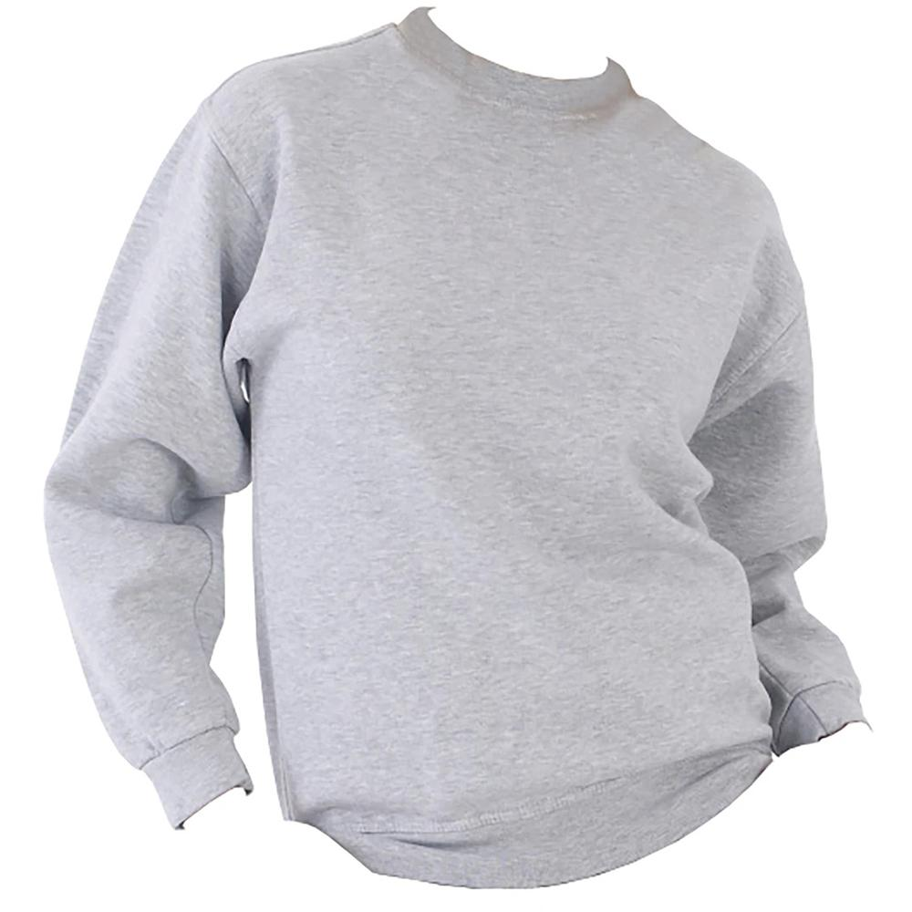 Ultimate Clothing Collection UCC 50//50 Mens Heavyweight Plain Set-in Sweatshirt Top