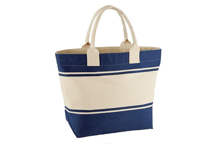 Quadra Canvas Deck Bag (24 Litres) (French Navy/Off White) (One Size)