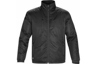 Stormtech Mens Axis Water Resistant Jacket (Black/Black) (5XL)