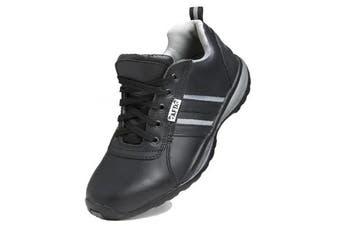 Dennys Unisex AFD Steel Toe Cap Safety Trainer / Footwear (Black/Grey) (41 EUR)