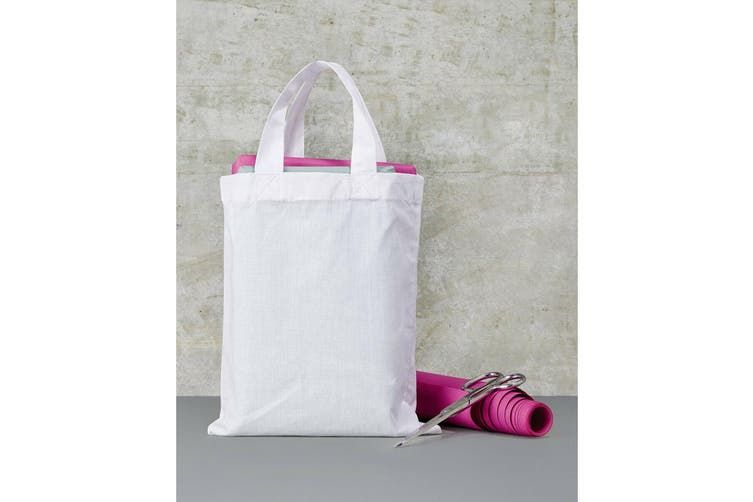 "Jassz Bags ""Oak"" Small Cotton Shopper Bag (Snow White) (One Size)"