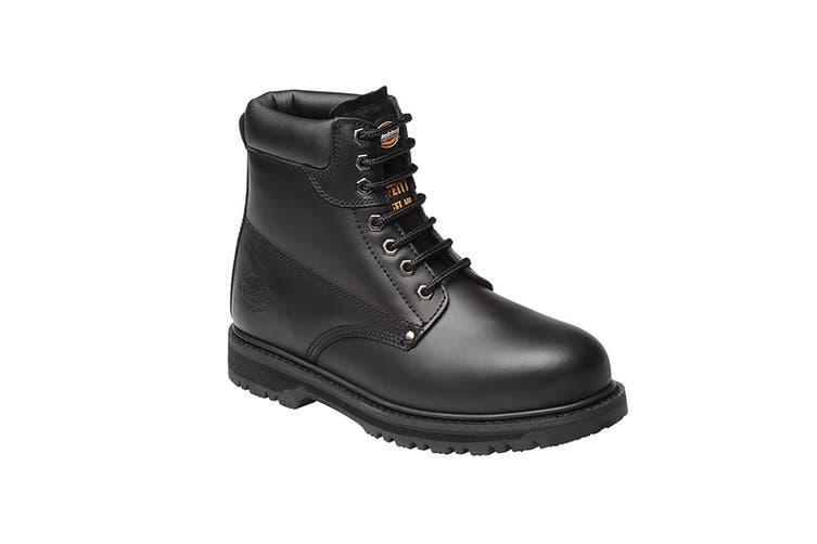 Dickies Unisex Cleveland Super Steel Toe-cap Safety Boot / Footwear (Black) (9 UK)