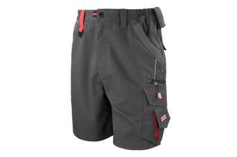 Result Workguard Unisex Technical Work Shorts (Grey/Black)
