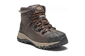 Dickies Unisex Medway Super Steel Toe-Cap Safety S3 Boot / Workwear (Brown) (8 UK)