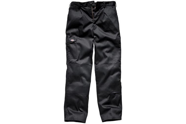 Dickies Mens Super Work Trousers (Short Leg) (Black) (30)