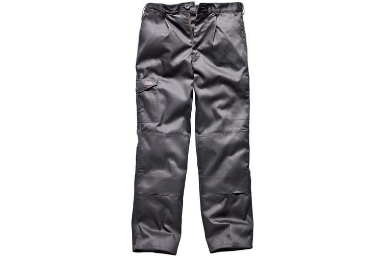 Dickies Mens Super Work Trousers (Short Leg) (Grey) (42)