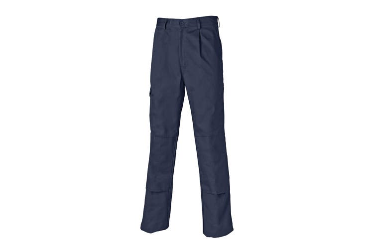 Dickies Mens Super Work Trousers (Short Leg) (Navy Blue) (46)