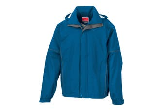 Result Mens Urban Outdoor Fell Lightweight Technical Jacket (Waterproof & Windproof) (Royal) (S)