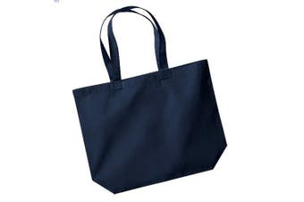 Westford Mill Maxi Tote/Shopper Bag For Life (French Navy) (One Size)