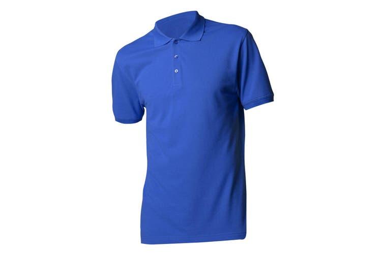 Kustom Kit Mens Short Sleeve Polo Shirt (Royal) (XXS)