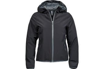 Tee Jays Womens/Ladies New York Jacket (Black/Space Grey) (3XL)