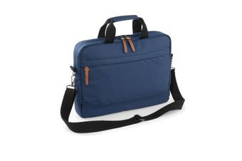 Bagbase Campus Padded Laptop Compatible Briefcase Bag (Navy Dusk) (One Size)
