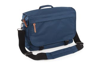 Bagbase Campus Padded Laptop Compatible Messenger Bag (Navy Dusk) (One Size)