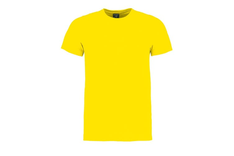 Kustom Kit Mens Superwash 60 Fashion Fit T-Shirt (Bright Yellow Marl) (S)