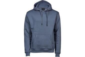Tee Jays Mens Hooded Cotton Blend Sweatshirt (Flint Stone) (3XL)