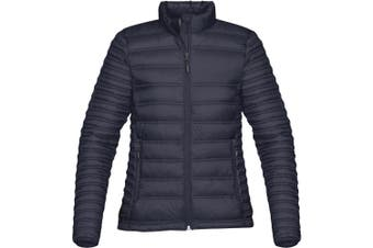 Stormtech Womens/Ladies Basecamp Thermal Jacket (Navy Blue) (XL)