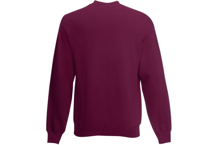Mens Jersey Sweater (Oxblood) (X Large)