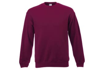 Mens Jersey Sweater (Oxblood) (Large)