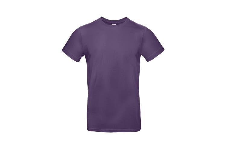 B&C Mens #E190 Tee (Radiant Purple) (XS)