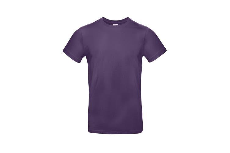B&C Mens #E190 Tee (Urban Purple) (M)