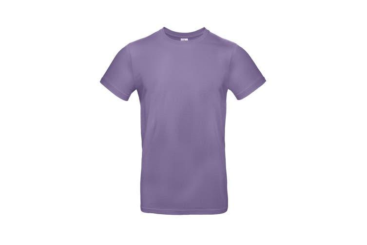 B&C Mens #E190 Tee (Millennial Lilac) (XL)