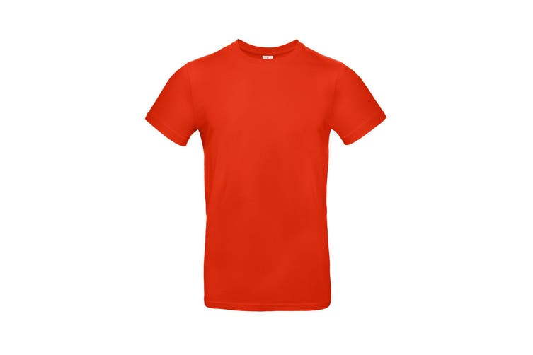 B&C Mens #E190 Tee (Fire Red) (3XL)