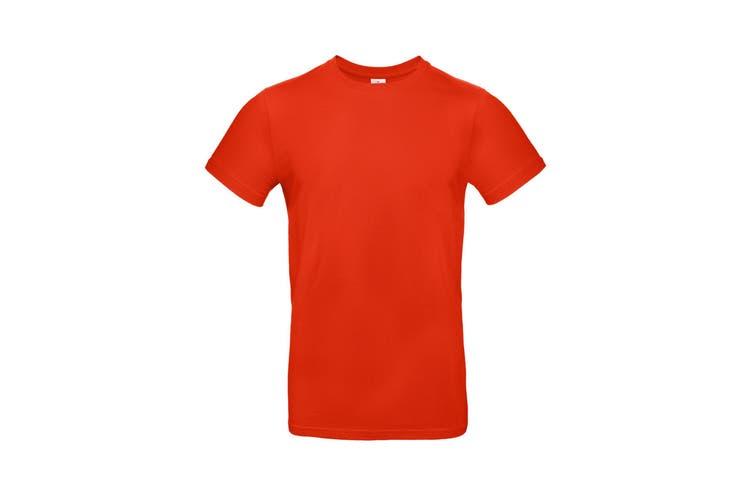 B&C Mens #E190 Tee (Fire Red) (M)