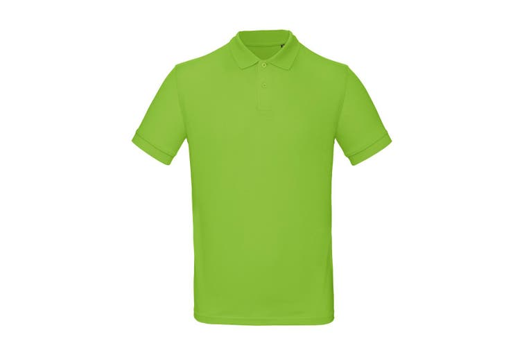 B&C Mens Inspire Polo (Orchid Green) (3XL)