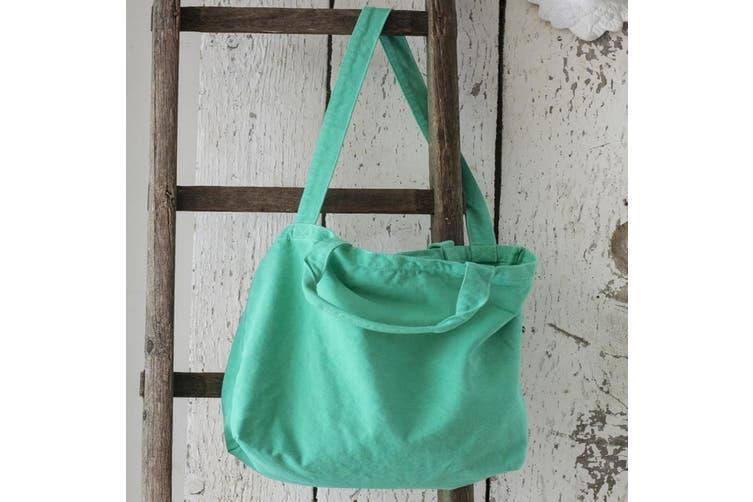 Bags By Jassz Zipped Canvas Shopper (Beach Blue) (One Size)
