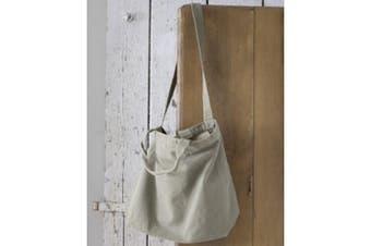 Bags By Jassz Zipped Canvas Shopper (Mid Grey) (One Size)
