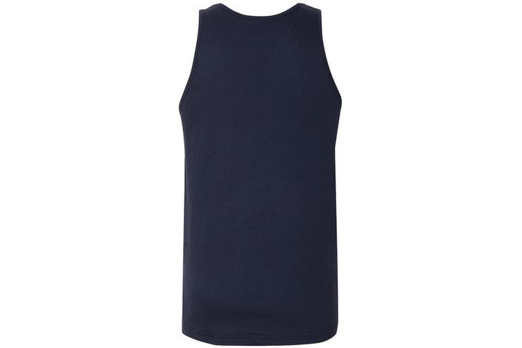 American Apparel Mens Fine Jersey Tank (Navy Blue) (XL)