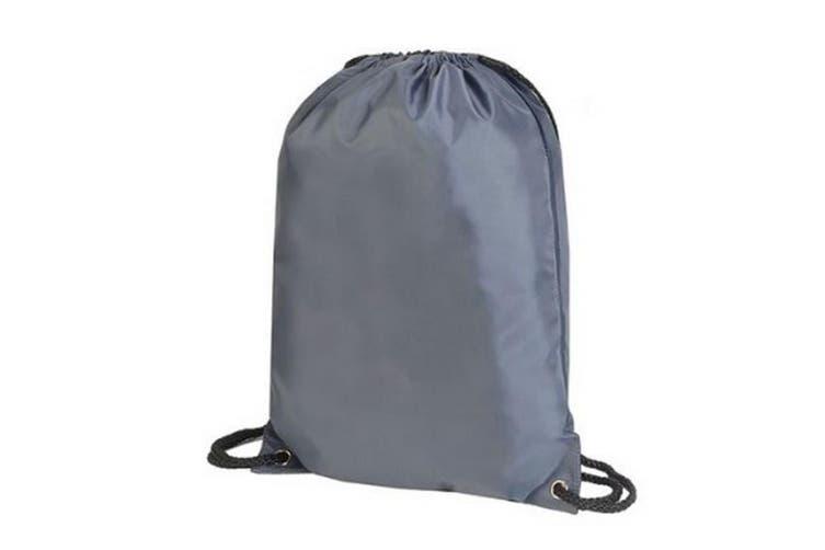 Shugon Stafford Contrast Drawstring Bag (Grey/Navy) (One Size)