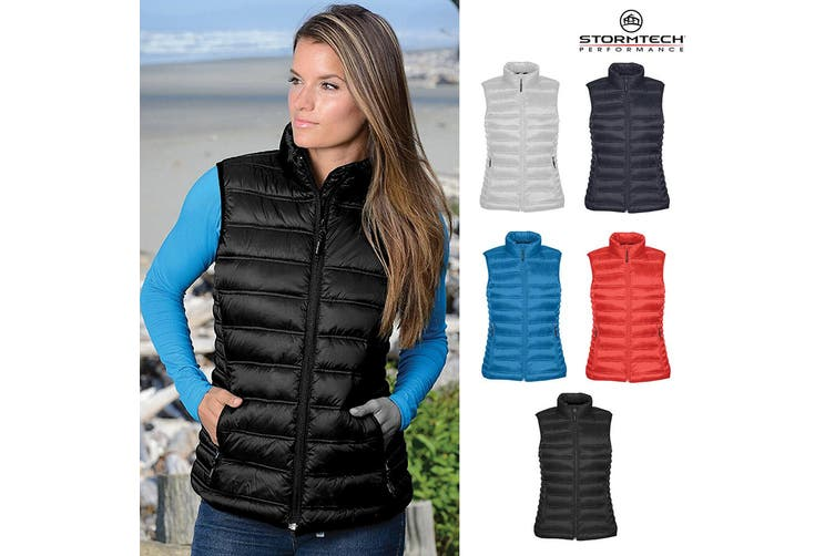 Stormtech Womens/Ladies Nautilus Vest/Gilet (Black) (M)