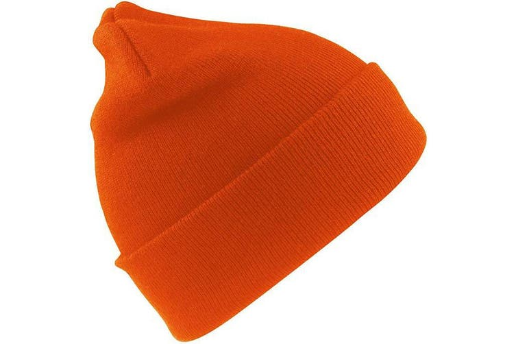 Result Unisex Lightweight Thermal Winter Thinsulate Hat (3M 40g) (Pack of 2) (Fluoresent Orange) (One Size)