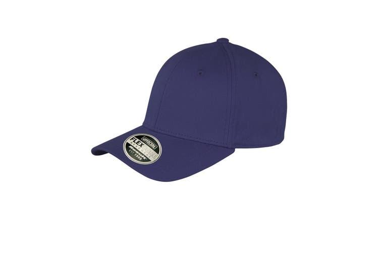 Result Unisex Core Kansas Flex Baseball Cap (Pack of 2) (Navy Blue) (L/XL)