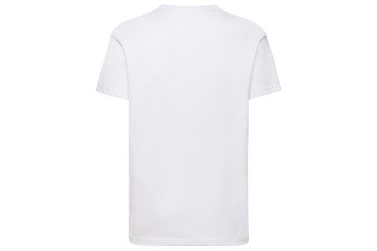 Fruit Of The Loom Childrens/Kids Unisex Valueweight Short Sleeve T-Shirt (Pack of 2) (White) (14-15)
