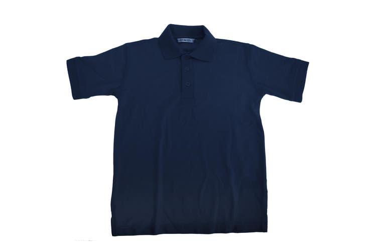 Kustom Kit Klassic Childrens Superwash 60 Polo Shirt (Pack of 2) (Navy Blue) (13-14)
