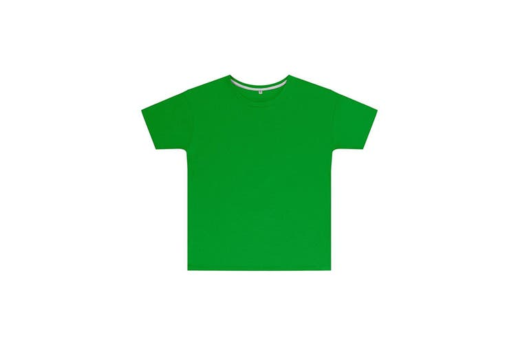 SG Childrens Kids Perfect Print Tee (Pack of 2) (Kelly Green) (3-4 Years)