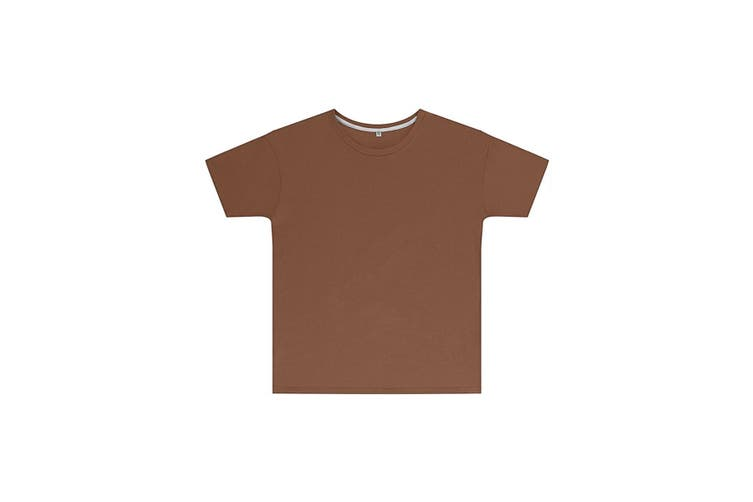 SG Childrens Kids Perfect Print Tee (Pack of 2) (Deep Taupe) (1-2 Years)
