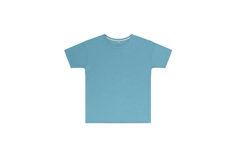 SG Childrens Kids Perfect Print Tee (Pack of 2) (Sky Blue) (5-6 Years)