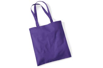 Westford Mill Promo Bag For Life - 10 Litres (Pack of 2) (Purple) (One Size)